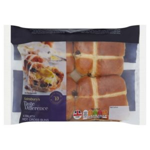Taste the difference Hot Cross Bun